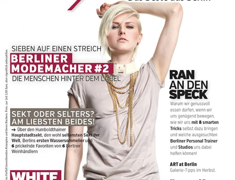 """Hochzeitsfotos im Berliner Stadtmagazin der """"Verführer"""""""