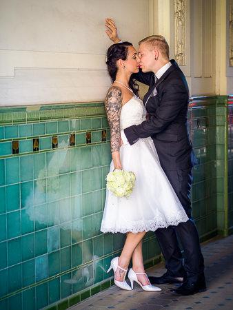 Standesamt Köpenick nach der Trauung fotografiert durch den Hochzeitsfotograf Berlin Marc Birkhoelzer www.hochzeitsaufnahmen.com