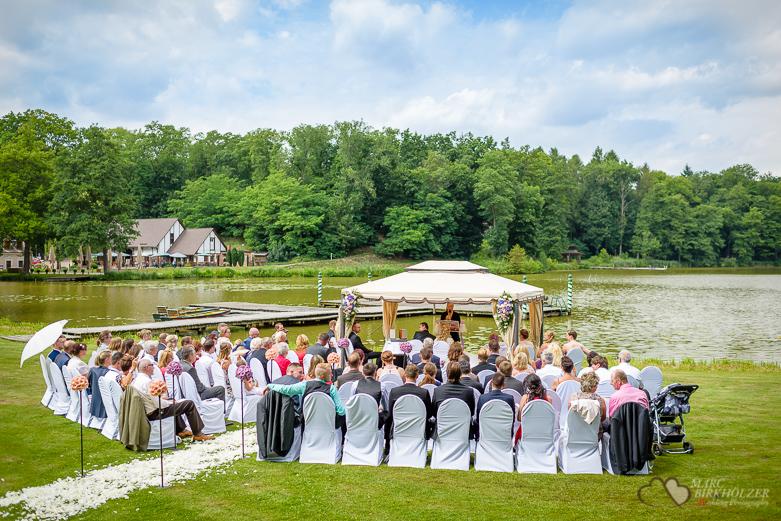 Hochzeit am Madlitzer See im Gut Klostermühle