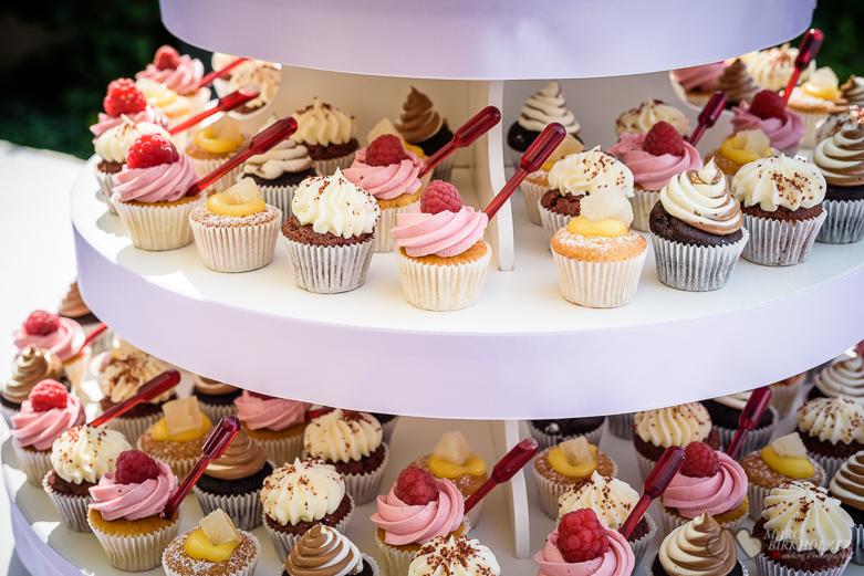 Cupcakes bei einer Hochzeit