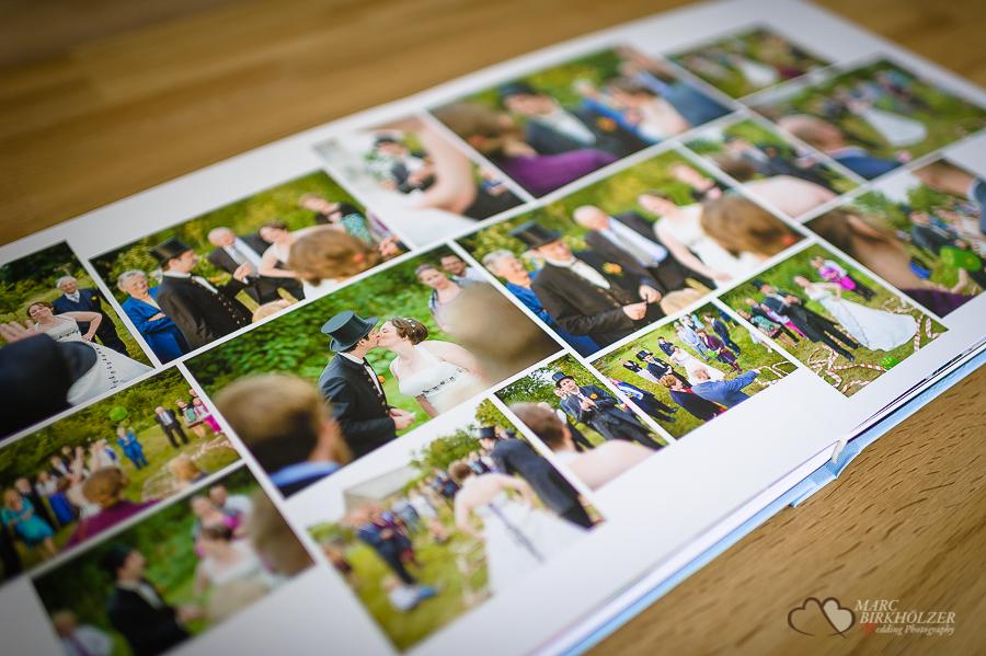 Hochwertiges Hochzeitsalbum erstellt vom Hochzeitsfotograf Berlin Marc Birkhoelzer www.hochzeitsaufnahmen.com