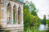 Wundervolle hHchzeitsreportage in Ptsdam im neuen Garten an der Gothischen Bibliothek fotografiert vom Hochzeitsfotograf Berlin Marc Birkhoelzer www.hochzeitsaufnahmen.com