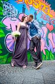 Begleitung der Hochzeit und Portraitfotos am Standesamt Friedrichshain-Kreuzberg aufgenommen vom Hochzeitsfotograf Berlin Marc Birkhoelzer www.hochzeitsaufnahmen.com