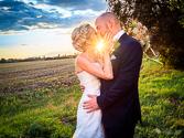 Portraitfoto vom Hochzeitspaar in Schwedt / Oder durch den Hochzeitsfotografen Marc Birkhölzer